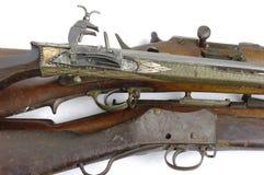 πυροβόλα όπλα παλαιά Στοκ εικόνες με δικαίωμα ελεύθερης χρήσης