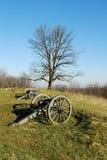 πυροβόλα gettysburg Στοκ Εικόνες