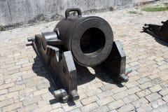 Πυροβόλο στο αμυντικό forte - Αβάνα Κούβα Στοκ Εικόνες