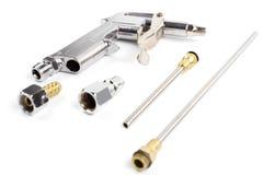 Πυροβόλο όπλο ανεμιστήρων ξεσκονόπανων αέρα αργιλίου Στοκ Εικόνες
