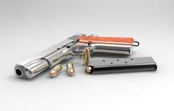 Πυροβόλο όπλο και πυρομαχικά Στοκ εικόνες με δικαίωμα ελεύθερης χρήσης