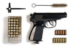 πυροβόλο όπλο σφαιρών Στοκ Φωτογραφίες