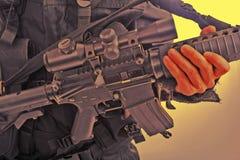 πυροβόλο όπλο τ Στοκ Εικόνα