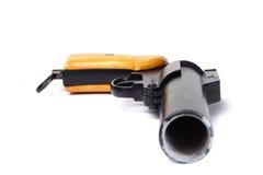 πυροβόλο όπλο φλογών Στοκ Εικόνα