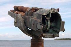 Πυροβόλο όπλο Gatling Στοκ φωτογραφία με δικαίωμα ελεύθερης χρήσης