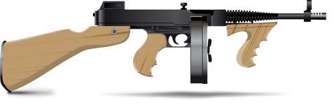 πυροβόλο όπλο Tommy Στοκ φωτογραφία με δικαίωμα ελεύθερης χρήσης