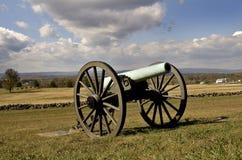 πυροβόλο gettysburg Στοκ Εικόνες