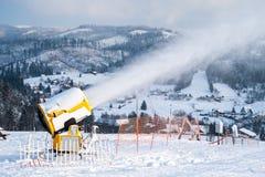 Πυροβόλα χιονιού Στοκ Εικόνα