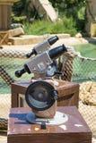 Πυροβόλα όπλα νερού στην περιοχή Angkor στο λούνα παρκ Aventura λιμένων στην Ισπανία Στοκ φωτογραφίες με δικαίωμα ελεύθερης χρήσης