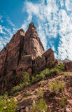 Εθνικό πάρκο Zion στοκ εικόνες