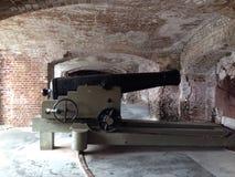 Πυροβόλο εμφύλιου πολέμου στο οχυρό Sumter Στοκ εικόνα με δικαίωμα ελεύθερης χρήσης