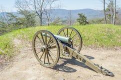 Πυροβόλο εμφύλιου πολέμου στο Cumberland Gap στοκ φωτογραφία