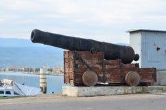 πυροβόλο μεσαιωνικό Στοκ εικόνα με δικαίωμα ελεύθερης χρήσης