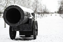 Πυροβόλο μνημείων στην πόλη μου Στοκ εικόνα με δικαίωμα ελεύθερης χρήσης