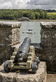 Πυροβόλο που υπερασπίζει Anglesey, Ουαλία, UK στοκ φωτογραφίες με δικαίωμα ελεύθερης χρήσης
