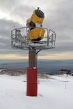 Πυροβόλο χιονιού Στοκ φωτογραφίες με δικαίωμα ελεύθερης χρήσης