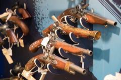 Πυροβόλο όπλο αναμνηστικών στο mont Άγιος Michel Στοκ Φωτογραφία