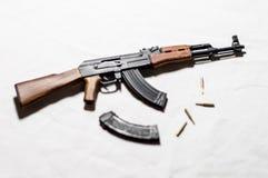 1/6 πυροβόλο όπλο κλίμακας Στοκ Εικόνα