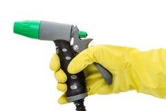 Πυροβόλο όπλο νερού διαθέσιμο Στοκ Εικόνες