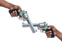 Πυροβόλο όπλο περίστροφων Στοκ Εικόνα