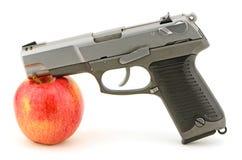 Πυροβόλο όπλο Apple Στοκ εικόνα με δικαίωμα ελεύθερης χρήσης