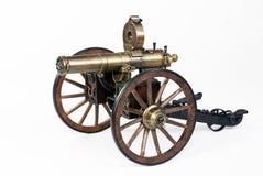 1883 πυροβόλο όπλο Gatling Στοκ Εικόνες
