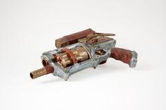 Πυροβόλο όπλο Steampunk Στοκ Εικόνες