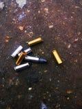 Πυρομαχικά και κλίμακες Στοκ φωτογραφία με δικαίωμα ελεύθερης χρήσης