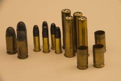 Πυρομαχικά και σφαίρες Στοκ εικόνες με δικαίωμα ελεύθερης χρήσης