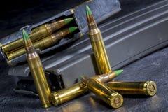 Πυρομαχικά πολυβόλων Στοκ φωτογραφίες με δικαίωμα ελεύθερης χρήσης