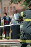 Πυροσβέστες Στοκ εικόνα με δικαίωμα ελεύθερης χρήσης