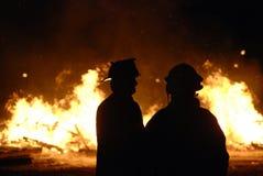 πυροσβέστες Στοκ Φωτογραφία