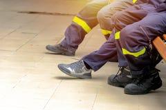 Πυροσβέστης, πυροσβέστης Ασφάλεια έκτακτης ανάγκης Προστασία, διάσωση από τον κίνδυνο Πυροσβέστης στο προστατευτικό κράνος Ενήλικ στοκ φωτογραφίες με δικαίωμα ελεύθερης χρήσης