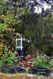Πυροσβέστης στους Γάλλους Στοκ φωτογραφία με δικαίωμα ελεύθερης χρήσης