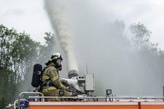 Πυροσβέστης Στοκ φωτογραφίες με δικαίωμα ελεύθερης χρήσης