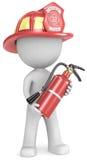 Πυροσβέστης. διανυσματική απεικόνιση