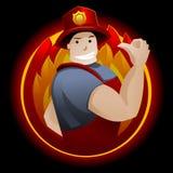 Πυροσβέστης ελεύθερη απεικόνιση δικαιώματος