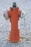 Πυροσβεστήρας στην οδό Στοκ Εικόνα
