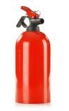 Πυροσβεστήρας στο λευκό Στοκ φωτογραφία με δικαίωμα ελεύθερης χρήσης