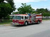 911 πυροσβεστική αντλία Ν Υ Γ που αποσύρεται στη Φλώριδα Στοκ φωτογραφίες με δικαίωμα ελεύθερης χρήσης