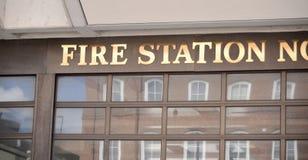 Πυροσβεστικός σταθμός στοκ φωτογραφία με δικαίωμα ελεύθερης χρήσης