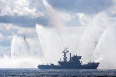 πυροσβεστικό πλοίο Isaac s Άγι Στοκ Εικόνες