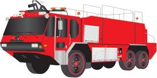 Πυροσβεστικό όχημα αερολιμένων Στοκ Εικόνες