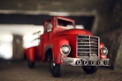 Πυροσβεστικό όχημα παιχνιδιών Στοκ Εικόνες