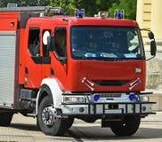 Πυροσβεστικό όχημα στην οδό Στοκ φωτογραφίες με δικαίωμα ελεύθερης χρήσης