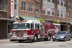Πυροσβεστικό όχημα στο Ντάλλας, ΗΠΑ Στοκ Εικόνες