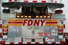 Πυροσβεστικό όχημα FDNY Στοκ φωτογραφίες με δικαίωμα ελεύθερης χρήσης