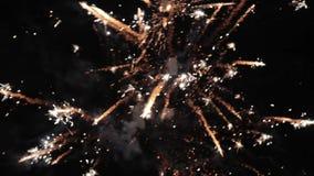 Πυροτέχνημα ή firecracker απόθεμα βίντεο
