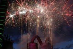 πυροτέχνημα Στοκ εικόνες με δικαίωμα ελεύθερης χρήσης