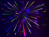 πυροτέχνημα διανυσματική απεικόνιση